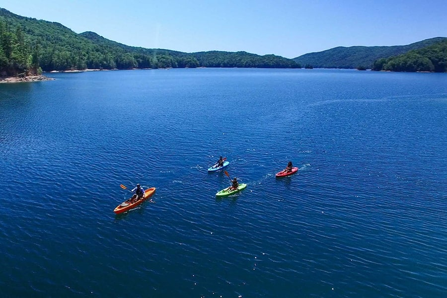 Lake Hartwell Country Lake Jocassee Kayaking
