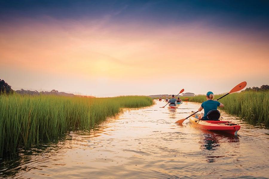 Myrtle Beach N Myrtle Beach Kayaking